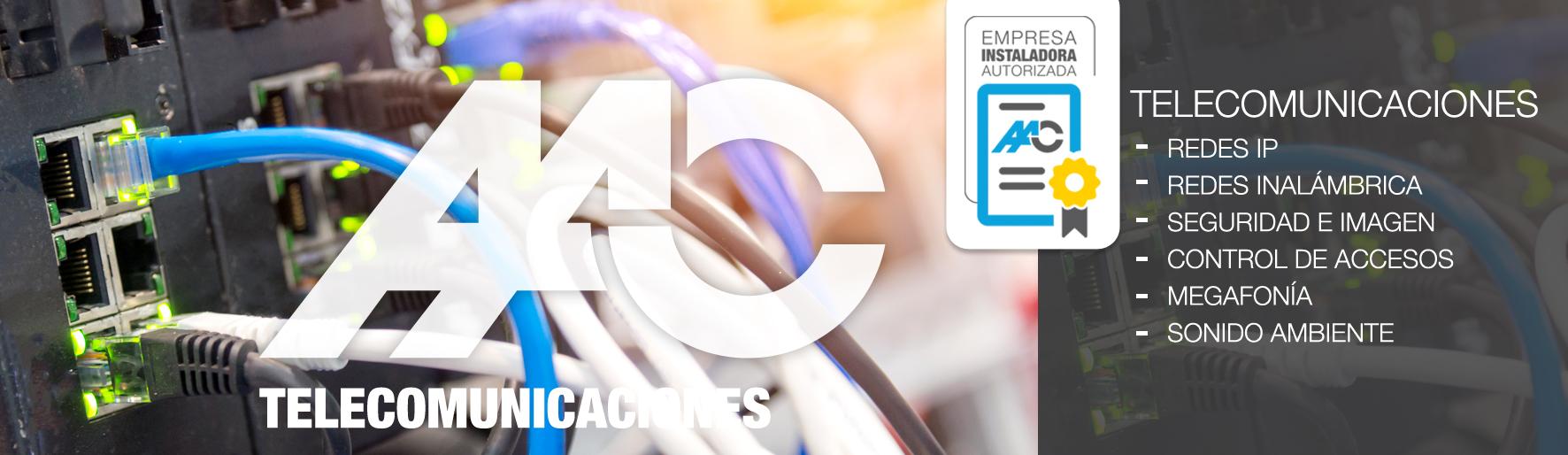 Almeida instalaciones y contrucción-TELECOMUNICACIONES