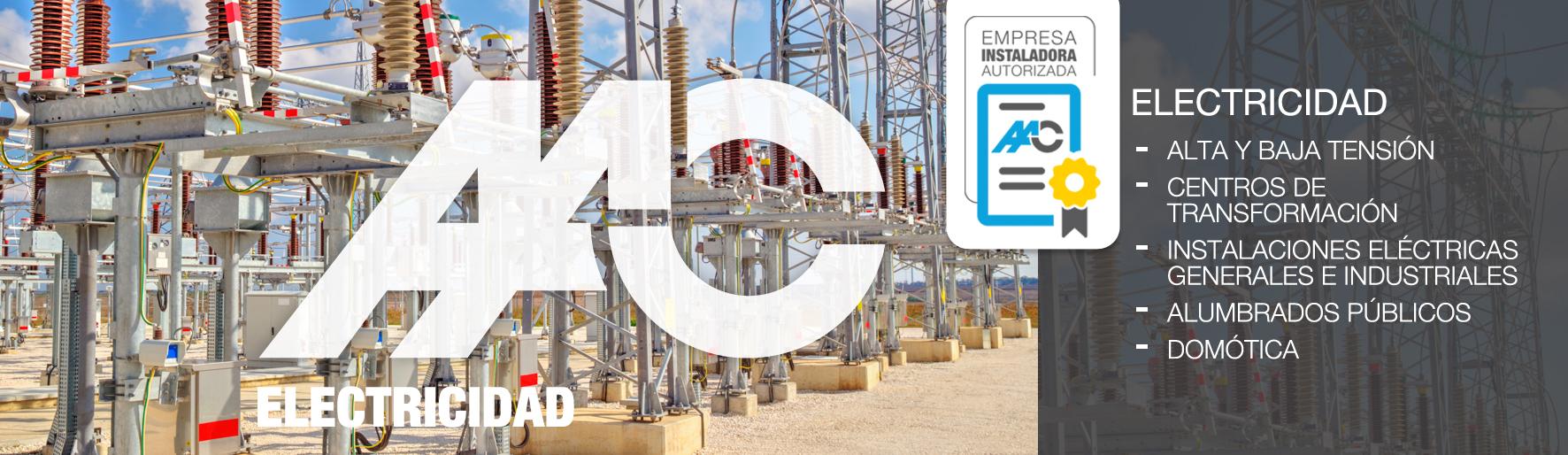 Almeida instalaciones y contrucción-ELECTRICIDAD