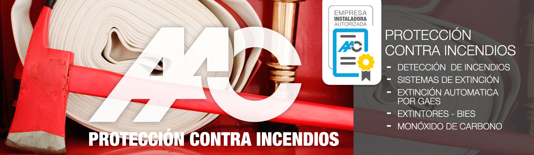 Almeida instalaciones y contrucción-PROTECIÓN CONTRA EL FUEGO