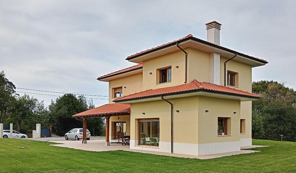 Almeida construcción e instalaciones - Vivienda unifamiliar en Asturias